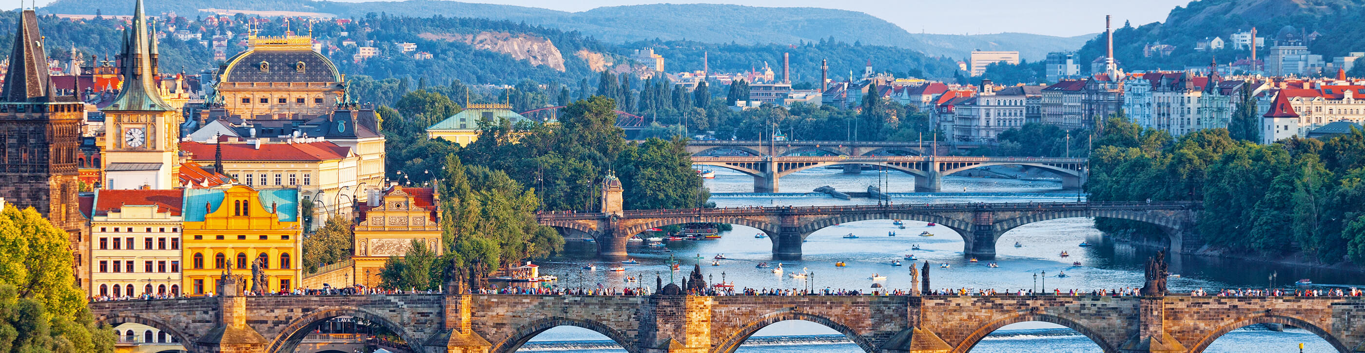 Enchanting Danube & Prague River Cruise