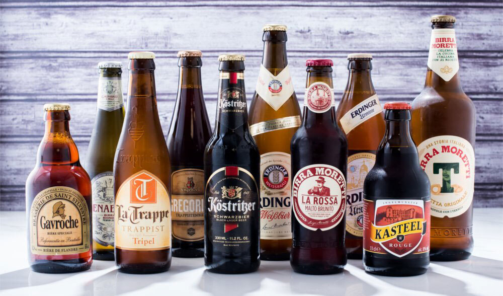 Uniworld Beer Selection