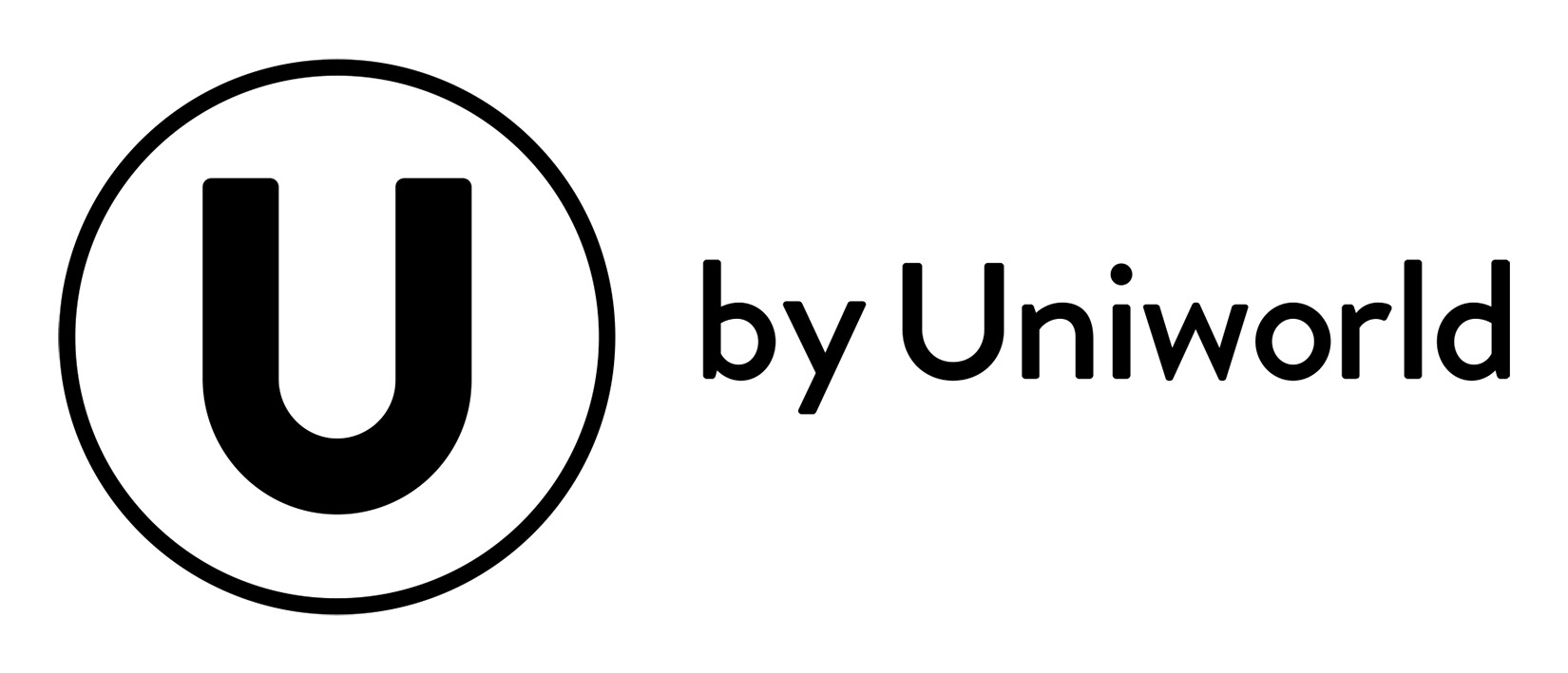 U by Uniworld logo (horizontal, transparent background)