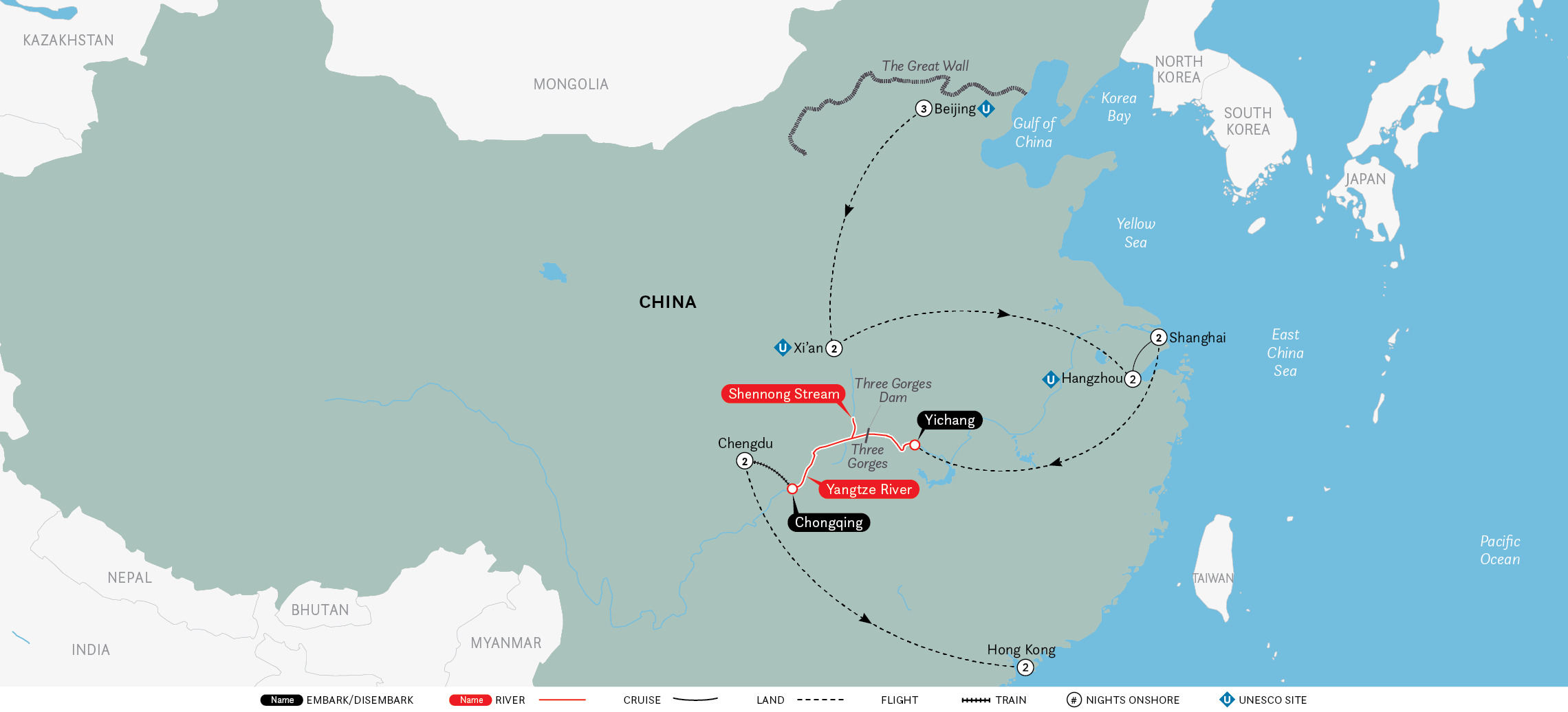 Grand China & the Yangtze