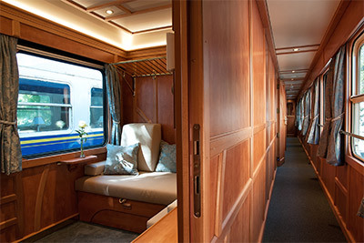 Golden Eagle Danube Express Accommodations